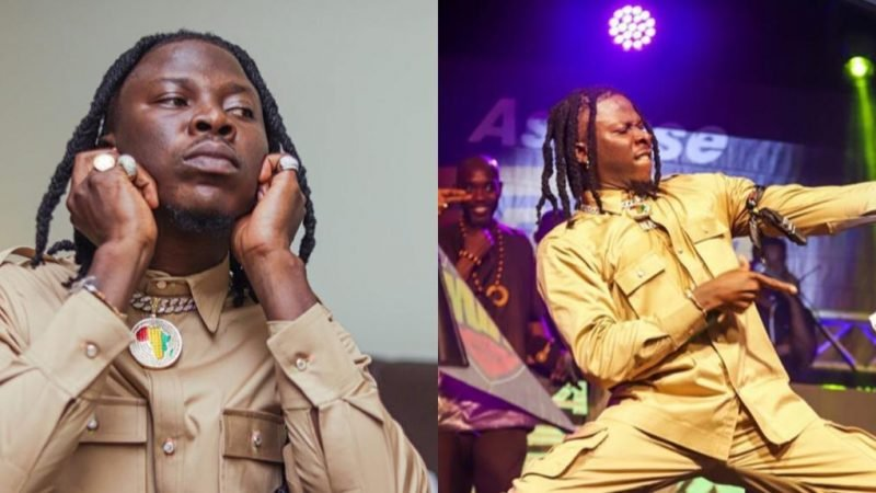I'm Quick To React But Am Not Quick Tempered – Stonebwoy Reveals (+video)