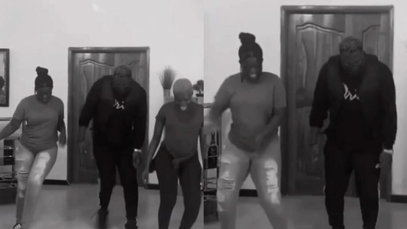 Medikal And Fella Makafui Spoil Medikal's Sister And Infect Her With Craziness