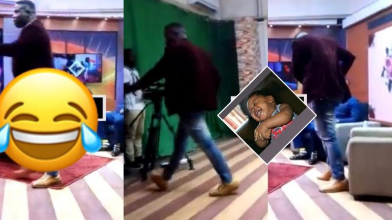 Pastor Blinks In Viral Video Shaving Lady's Private Part Walks Out On Live TV At Kantaka TV