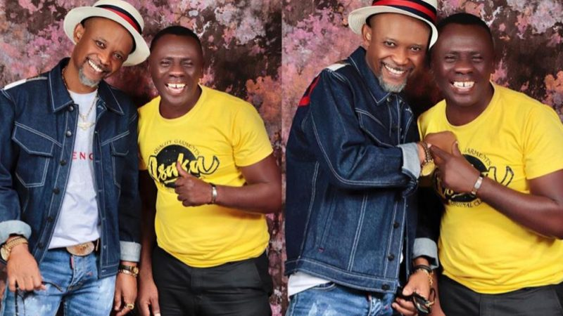 Fadda Dickson And Akrobeto Share Joyful Photos Together (+photos)