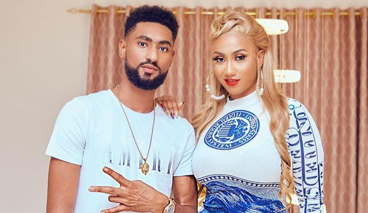 Hajia4Real's Handsome Brother And Bestie Get Female Fans Crushing Photo