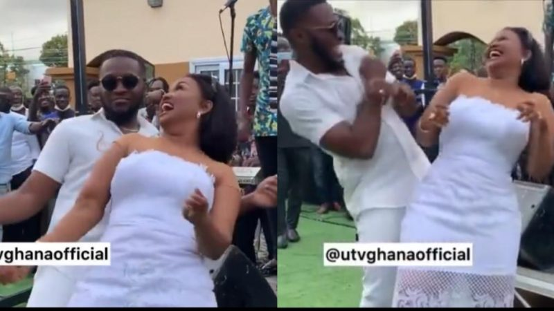 It Was A Mad Thing When Kennedy Osei And Nana Ama McBrown Stepped On The Dance Floor