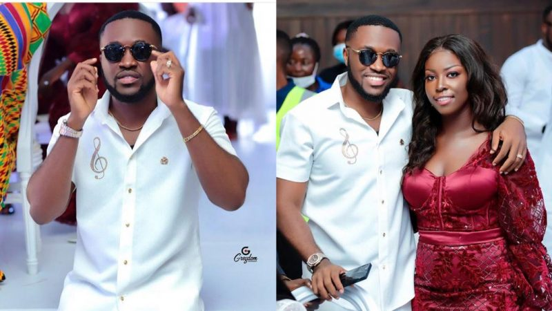 Kennedy Osei Shares Stunning Photos Of Him At Special Ice CEO's Daughter's Marriage Ceremony