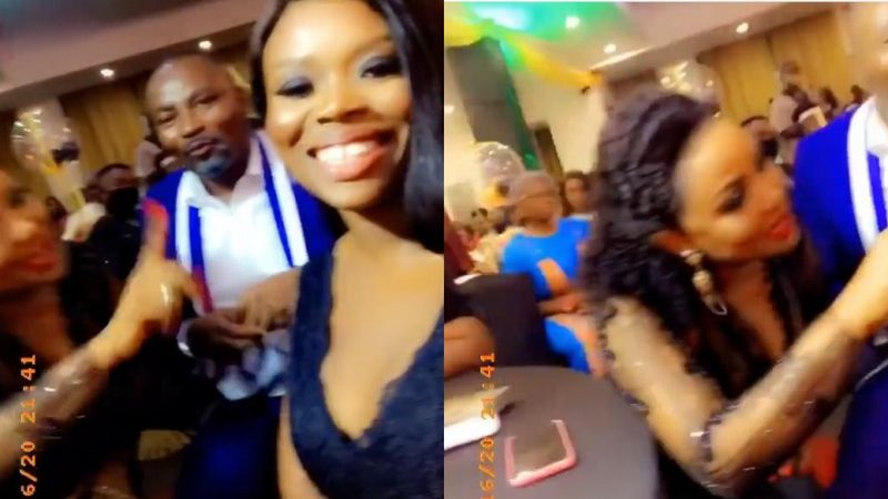 The Big Girls In The Game – Nana Ama McBrown And Delay Share Their Link Up Video