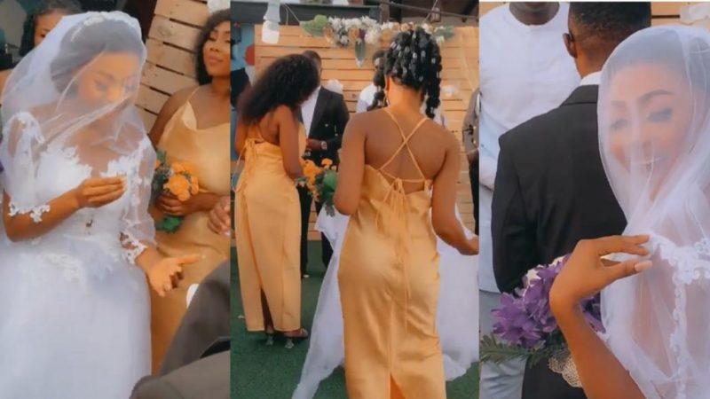 Akuapem Poloo Puts Out Video Of Her Wedding To Prove To All Doubting Thomas' That She Is Indeed Married