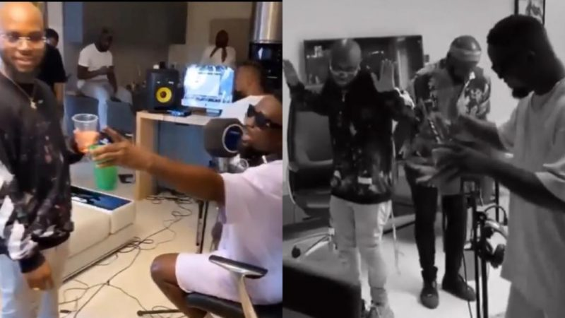 Sarkodie And King Promise Share Snippet Of Their New Banger And Dance – Video