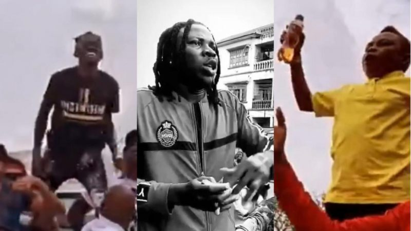 Stonebwoy, Yaw Dabo And Lil Win Paint Kumasi Red With The BHIM Boss Float – Video