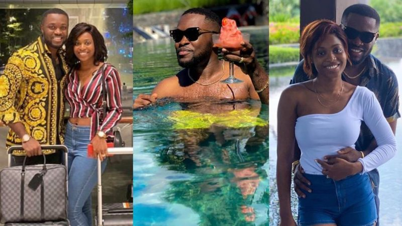 Kennedy Osei's Wife Tracy, Wishes Him A Happy Birthday With A Romantic Note