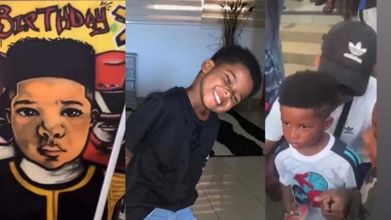 Kidi Throws An 'Enjoyment' Birthday Party For Son (Video)
