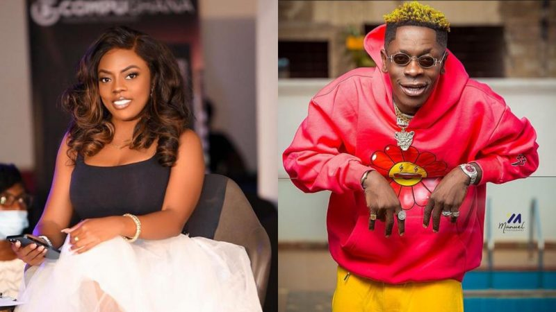 Shatta Wale And Nana Aba Anamoah Are Getting Tight As He Discloses The Relationship Between Them