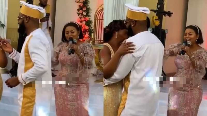 Nana Ama McBrown Once Again Gives An Outstanding Performance At A Wedding
