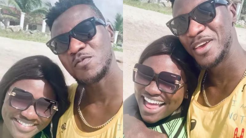 Keche Joshua Shows Off His Pretty Wife As They Jam To Their New Song, Good Mood (Video)