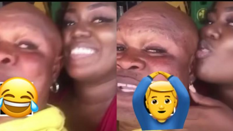 Bukom Banku Goes In For Patapaa's Ex-Girlfriend As They Chop Love, Following Her Recent Broken Heart