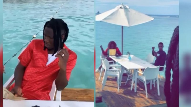 Stonebwoy And Wife Dr. Louisa Go For Part Two Of Their Honeymoon In Jamaica