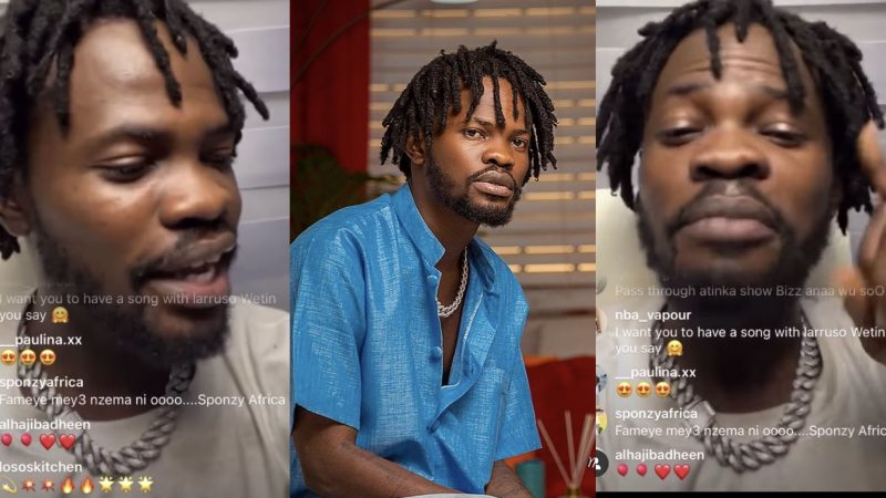 I Was Not Ar.rested – Fameye Explains Why He Was Held Up By The Police