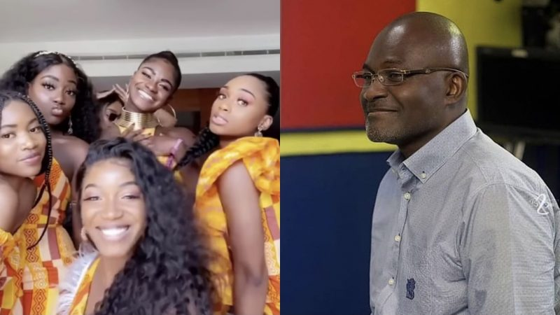Kennedy Agyapong Daughters Gather To Show Their Dancing Skills In New Video