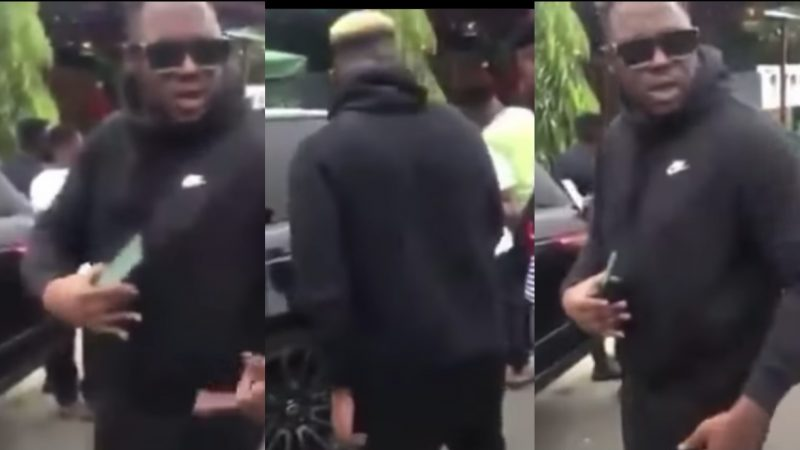 If You Beg You Will Be Poor, Go Look For Money – Medikal Tells A Fan After Begging Him For Money (video)
