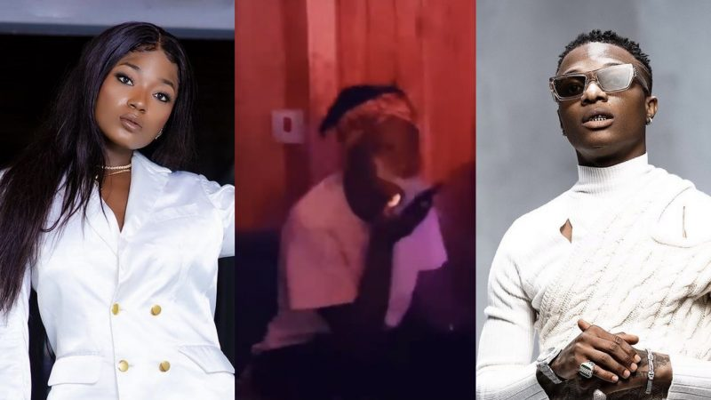 Rare Video Of Efya Getting In The Studio With Wizkid
