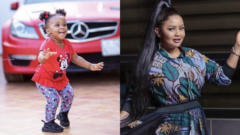 Happy BaBy Maxin – Nana Ama McBrown's Daughter Leaves People Smiling With Her New Photos
