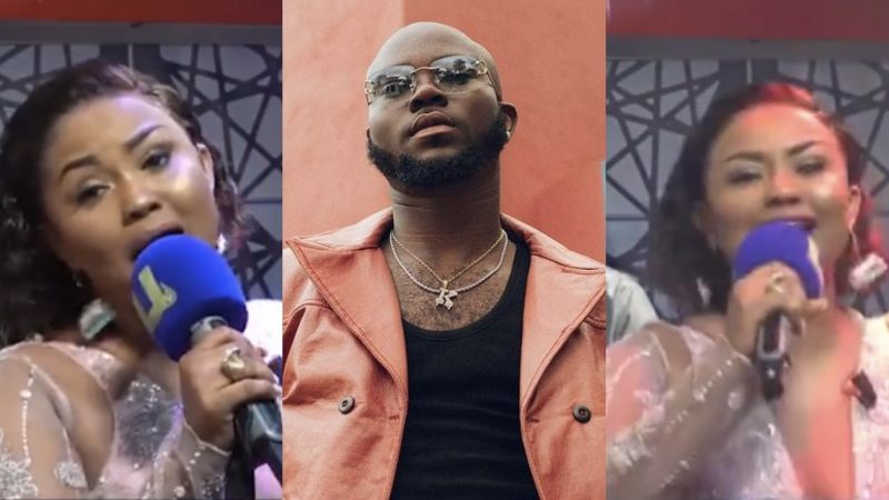 Nana Ama McBrown Gives King Promise Competition As She Sings His Song Perfectly