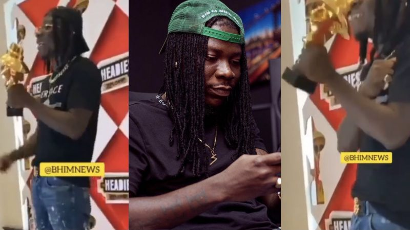 Stonebwoy Beats MasterKG And Others To Win African Artist Of The Year At Naija Music Awards, The Headies