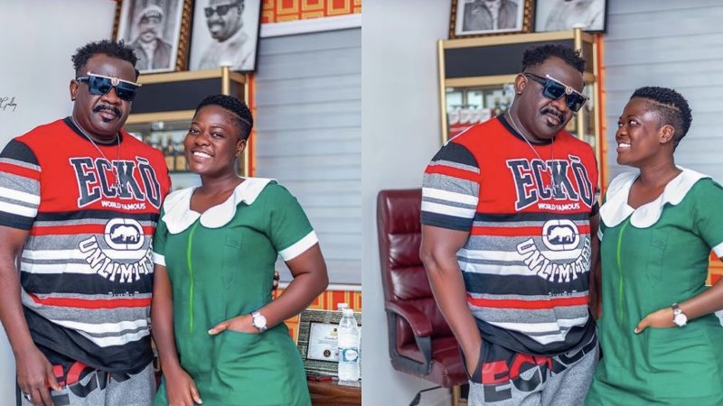 Koo Fori's Daughter And TikTok Star, Asantewaa Shares More Photos Of Her And Her Dad