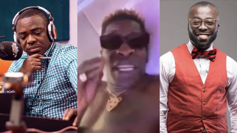 Stop Talking Non.sense – Shatta Wale Blasts Andy Dosty And Sammy Flex For Poor Radio Performance
