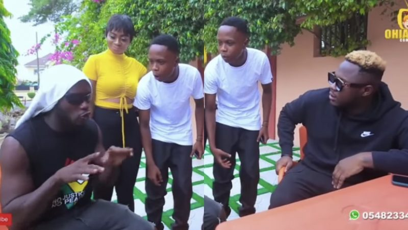 Dr. Lykeee Gives His Best Freestyle To Impress Medikal (video)