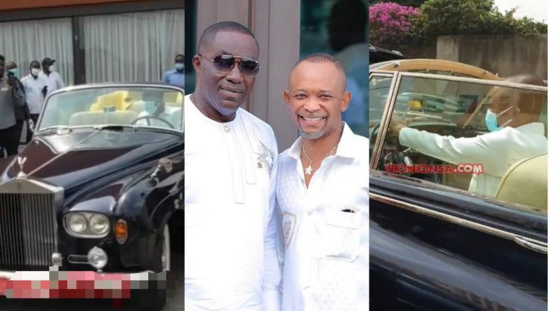 Fadda Dickson Test Drives Osei Kwame Despite's New Rolls Royce Classic (video)