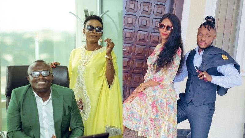 Keche's Millionaire Wife, Madam Joan, Eyes First Female President With Bola Ray As His Running Mate