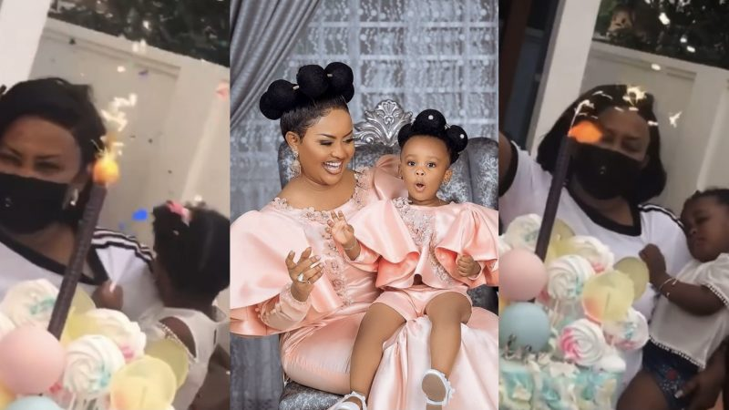 Video Of BaBy Maxin's Lovely Birthday Party Organized By Her Mum Nana Ama McBrown