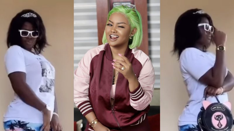 TikTok Star Asantewaa Mimics Nana Ama McBrown Perfectly Well In Her New TikTok Video
