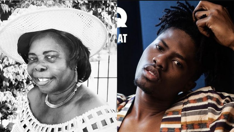 Kwesi Arthur Sorrowfully Remembers His Late Mother, Shares A Heartwarming Message For Her