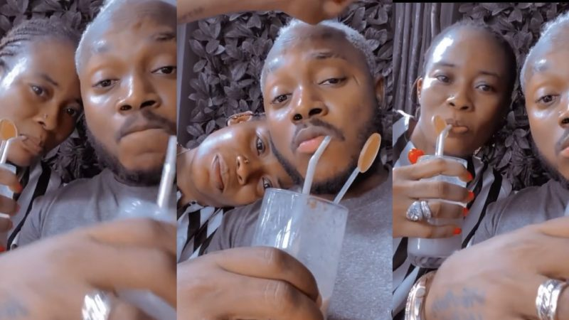 Keche Andrew And Wife Getting H@ters Jealous With Their Love Mood Video
