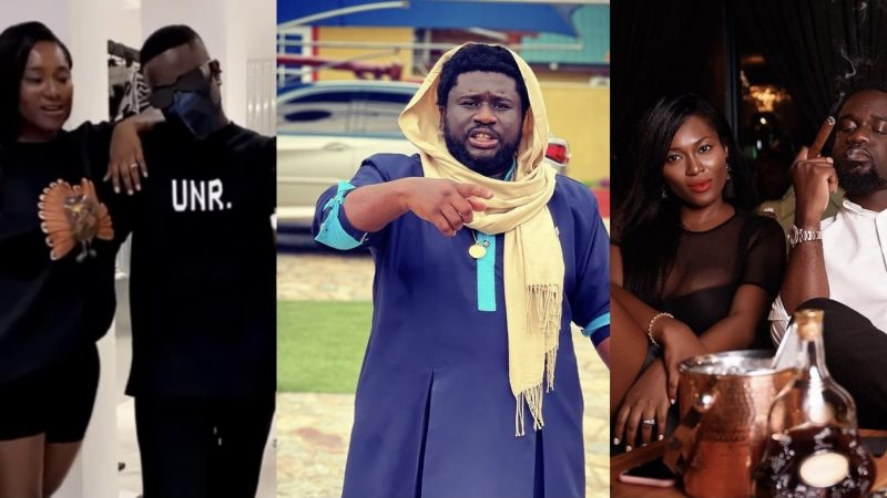 Fans Tag Sarkodie And Tracy After Ajagurajah Revealed A Popular Ghanaian Rapper Was Married To A Demigod