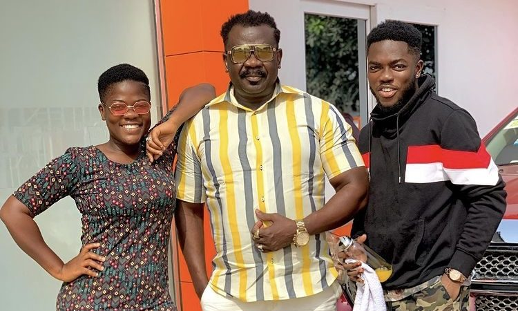 Koo Ofori Share Adorable Photos of Him And His Children, Including TikTok Star Asantewaa (+photos)