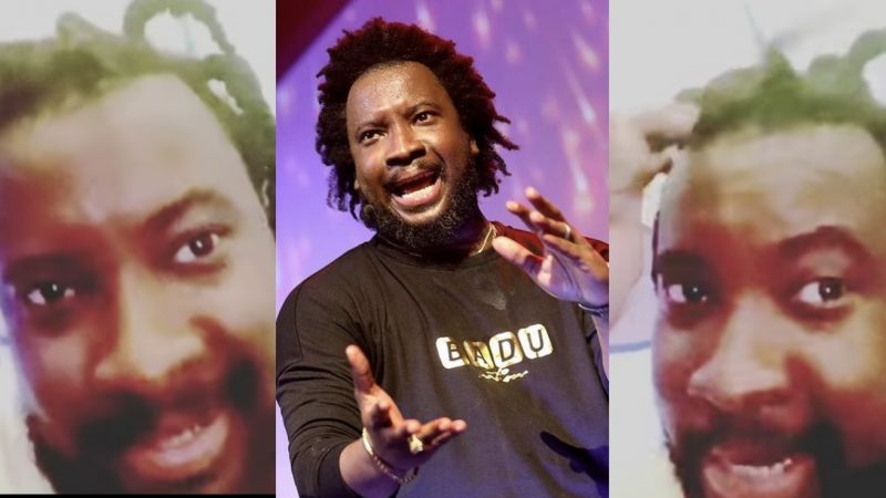 Sonnie Badu Displays His New Rasta Look As He Plays With His Children