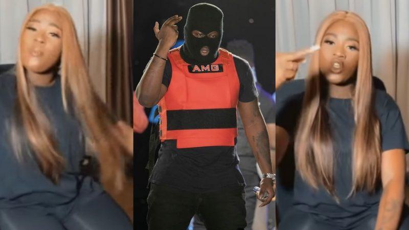Fella Makafui Raps Medikal's Latest Song Word To Word