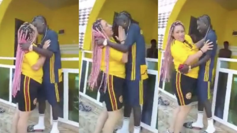 This Is So Romantic – Patapaa And Wife Kíss And Slap Each Other Romantically (video)