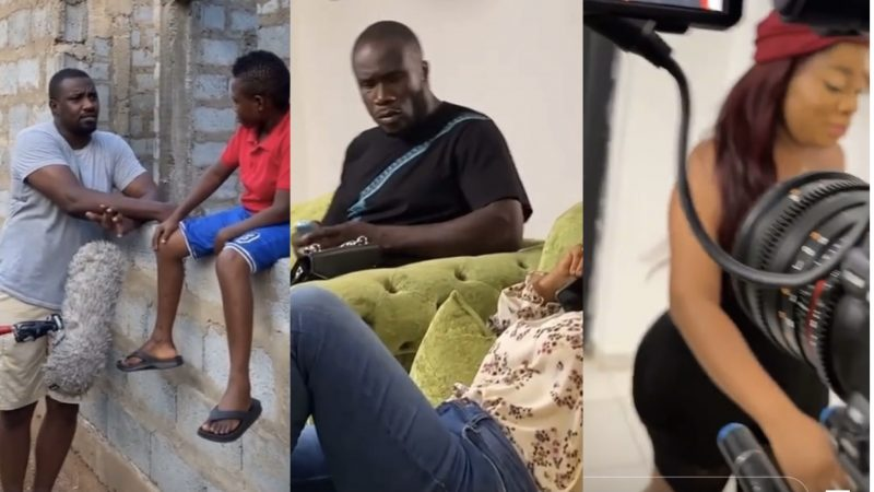 Lykee, John Dumelo, Dabo, Moesha Boduong And Others Work Together In A New Series By Kofi Asamoah