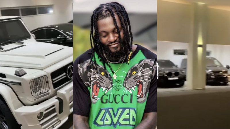 A Tour Of Adebayor's Garage Full Of Expensive And Plush Cars (Video)