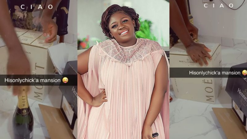 Tracey Boakye Busy Stocking Her New Mansion As People M0ck Her For Loosing Her East-Leg House
