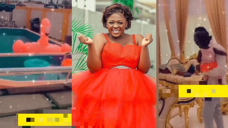 Tracey Boakye Gives A Tour Of Her New Mansion (video)