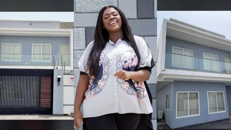 East Legon Land Lady, Tracey Boakye Puts Her East Legon House On Rent
