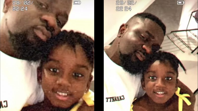 Titi Glowing In New Video With Her Dad, Sarkodie
